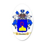Amoddeo Oval Car Magnet