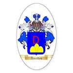 Amoddeo Sticker (Oval 50 pk)