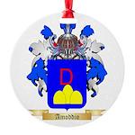 Amoddio Round Ornament