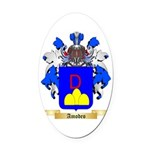 Amodeo Oval Car Magnet