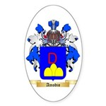 Amodio Sticker (Oval 50 pk)
