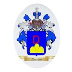 Amodio Ornament (Oval)