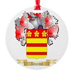 Amorosi Round Ornament