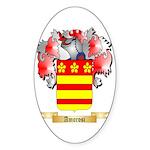 Amorosi Sticker (Oval 50 pk)