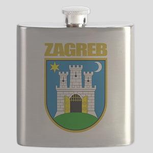 Zagreb COA Flask
