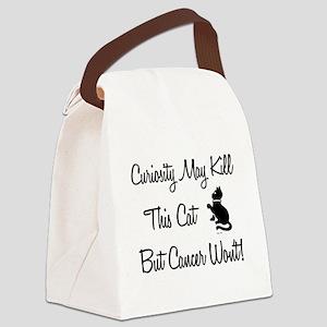 CURIOSITY... Canvas Lunch Bag