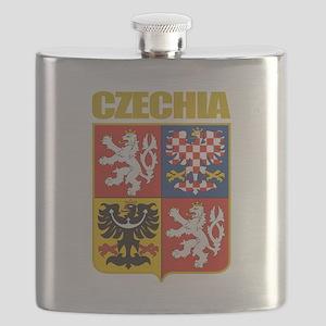 Czechia COA Flask