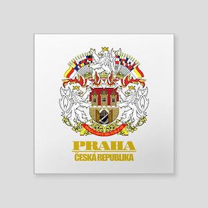 """Praha (Prague)2 COA Square Sticker 3"""" x 3"""""""