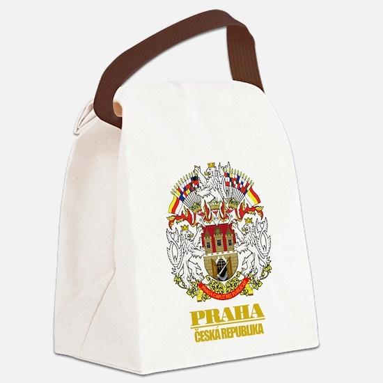 Praha (Prague)2 COA.png Canvas Lunch Bag
