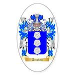 Amsden Sticker (Oval 10 pk)