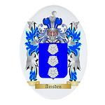 Amsden Ornament (Oval)
