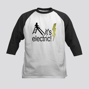 The Electric Slide Kids Baseball Jersey