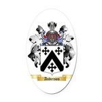 Anderson Oval Car Magnet