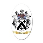 Anderson 20x12 Oval Wall Decal