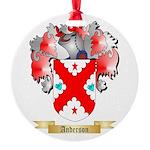 Anderson 2 Round Ornament