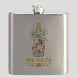 Plzen COA (Flag 10) Flask