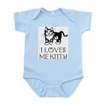 I LOVES ME KITTY - Infant Bodysuit
