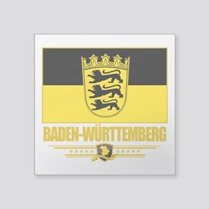 Baden-Wurttemberg (Flag 10) Square Sticker 3""