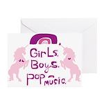girlsboyspopmusic Greeting Cards