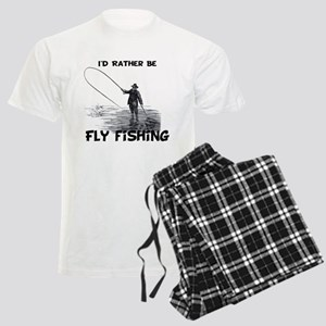 Fly Fishing Men's Light Pajamas