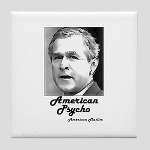 American Psycho Tile Coaster
