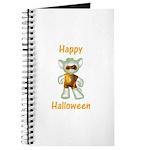 Happy Halloween Ghost Kitten Journal