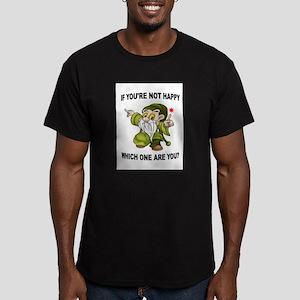 DWARF Men's Fitted T-Shirt (dark)