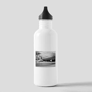 Lake Michigan Dark Stainless Water Bottle 1.0L