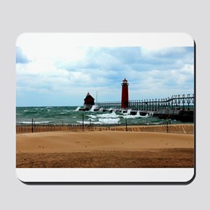 Lake Michigan Beach Mousepad