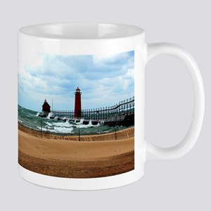 Lake Michigan Beach Mug