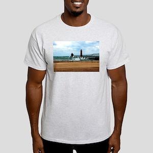 Lake Michigan Beach Light T-Shirt