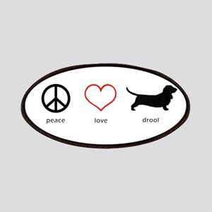 Peace, Love, Drool Patch