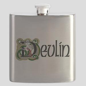 Devlin Celtic Dragon Flask