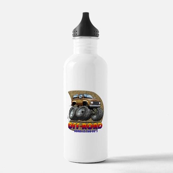 Brown Tan B2 Water Bottle