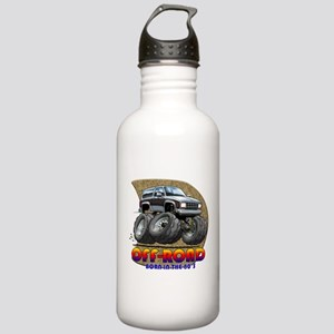 Grey Black B2 Stainless Water Bottle 1.0L