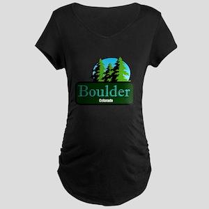 Boulder Colorado t shirt truck stop novelty Matern