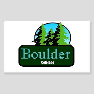 Boulder Colorado t shirt truck stop novelty Sticke