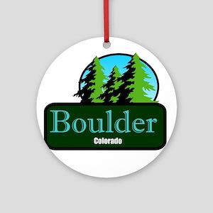 Boulder Colorado t shirt truck stop novelty Orname