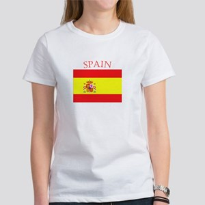 Spanish Flag spain yellow Women's T-Shirt