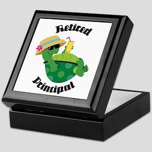 Retired Principal Gift Keepsake Box