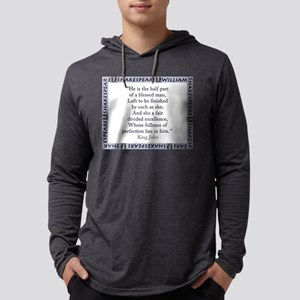 He Is The Half Part Mens Hooded Shirt