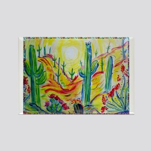 Saguaro Cactus, desert Southwest art! Rectangle Ma