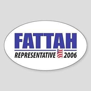 Fattah 2006 Oval Sticker