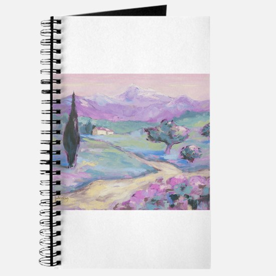 Purple mountain Painting Journal