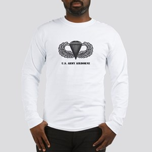 Basic Airborne Wings Long Sleeve T-Shirt