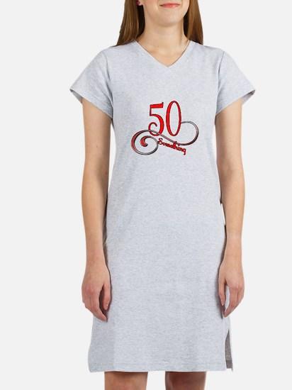 Unique 50th birthday Women's Nightshirt