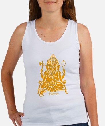 Jai Ganesh (Orange) Tank Top