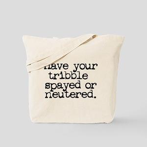Star Trek / Tribble Tote Bag