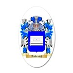 Andrasch 35x21 Oval Wall Decal