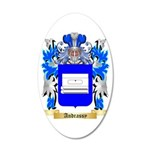 Andrassy 35x21 Oval Wall Decal